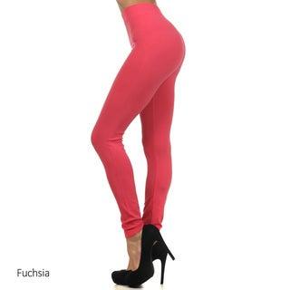 Women's One-size Solid Leggings