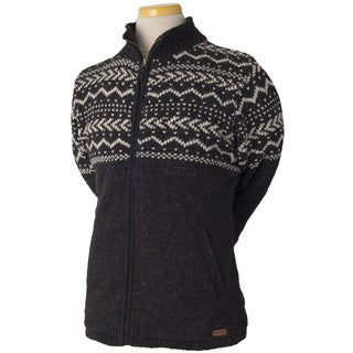 Laundromat Men's Yukon Black Wool Sweater