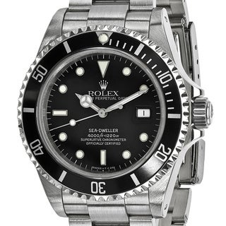 Pre-Owned Rolex Men's Stainless Steel Sea Dweller Watch - Stainless  Steel