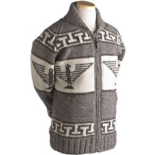 Laundromat Men's Phoenix Brown Wool Sweater
