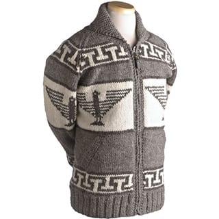 Laundromat Men's Phoenix Brown Wool Sweater