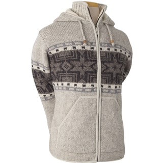 Laundromat Men's Norden Cream 100 Percent Wool Fleece-lined Hoodie|https://ak1.ostkcdn.com/images/products/13818760/P20466012.jpg?impolicy=medium