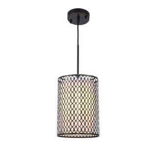 Woodbridge Lighting 16623BRZ Spencer Bronze Stainless Steel 1-light Mini Pendant
