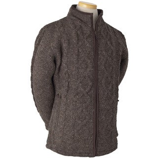 Laundromat Men's Galway Brown Wool Sweater