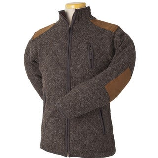 Laundromat Men's Oxford Brown Wool Sweater