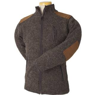 Laundromat Men's Oxford Brown Wool Sweater