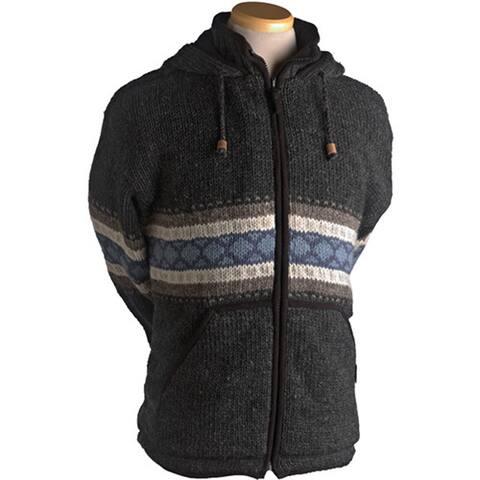 Laundromat Men's Wayne Black Wool Sweater