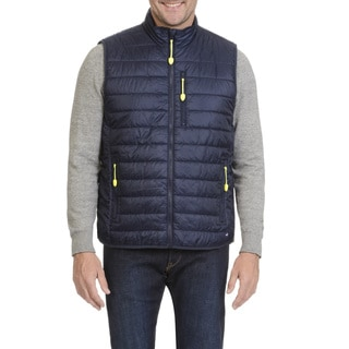 Caribbean Joe Men's Zip Front Vest