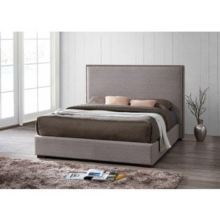 Benjamin Upholstered Queen Size Platform Bed