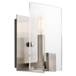 Kichler Lighting Signata Collection 1-light Classic Pewter Wall Sconce