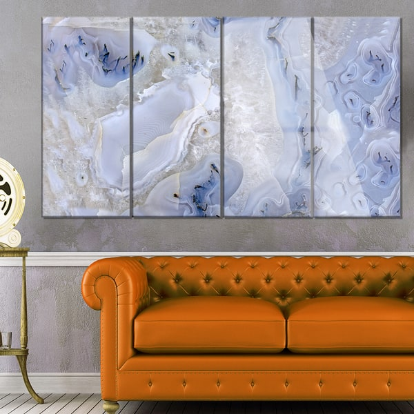 Shop Designart 'Agate Stone Background' Abstract Photography