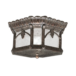 Kichler Lighting Tournai Collection 2-light Londonderry Outdoor Flush Mount