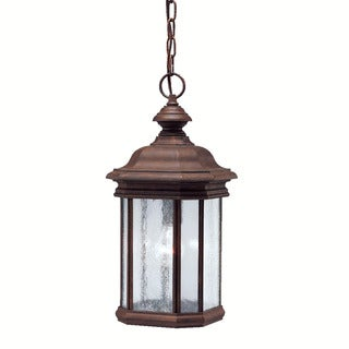 Kichler Lighting Kirkwood Collection 1-light Tannery Bronze Outdoor Pendant