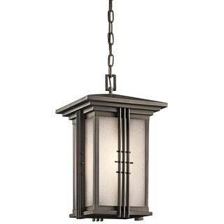 Kichler Lighting Portman Square Collection 1-light Olde Bronze Outdoor Pendant