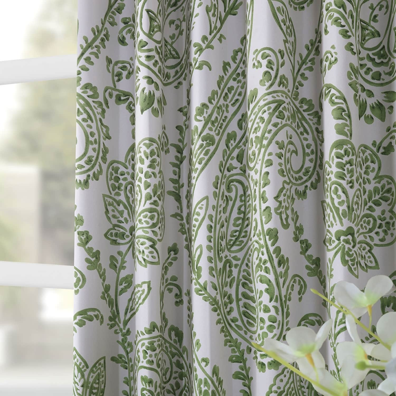 Exclusive Fabrics Tea Time China Blue Blackout Curtain Panel Pair Overstock 13827678
