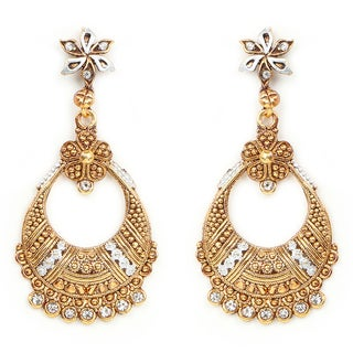 Liliana Bella Goldplated Chandelier Earrings With White Cubic Zirconia|https://ak1.ostkcdn.com/images/products/13827726/P20473282.jpg?_ostk_perf_=percv&impolicy=medium
