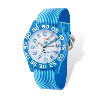 Disney Kids Frozen Olaf Time Teacher Watch