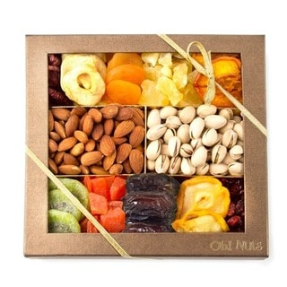 12-variety Fruit and Nuts Gift Basket