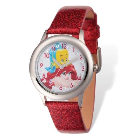 Disney Kids Princess Ariel and Flounder Tween Watch