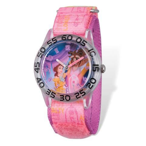 Disney Kids Beauty & the Beast Time Teacher Watch