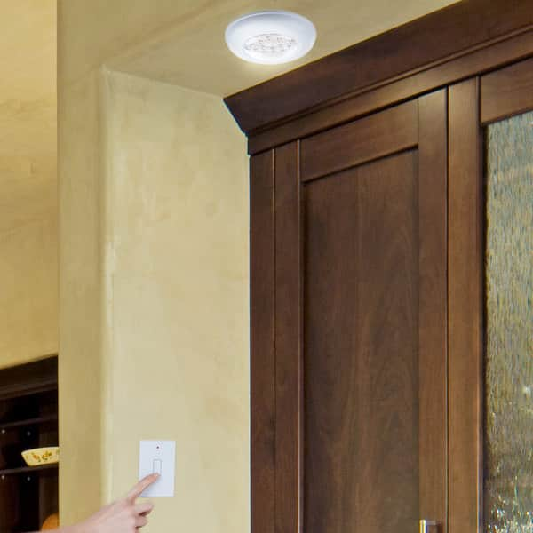 Cordless Ceiling Wall Light With Remote Control Light Switch Overstock 13827986