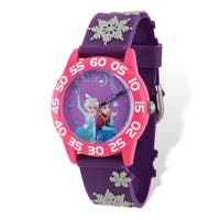 Disney Kids Frozen Elsa & Anna Time Teacher Watch