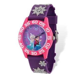 Disney Kids Frozen Elsa & Anna Time Teacher Watch