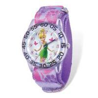 Disney Tinker Bell Acrylic Nylon Time Teacher Watch