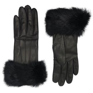 Coach Black Leather Fur-trimmed Gloves|https://ak1.ostkcdn.com/images/products/13828094/P20473502.jpg?impolicy=medium