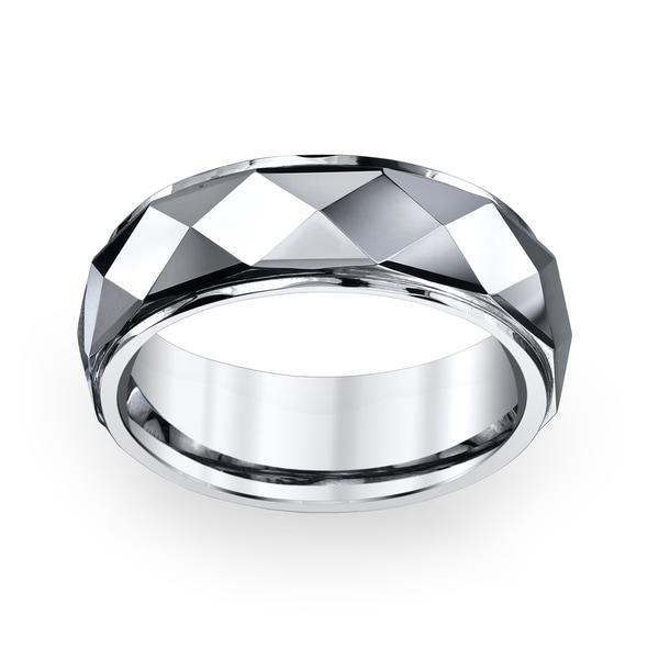 Men's Tungsten Carbide Band (8 mm)