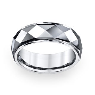 Men's Tungsten Carbide Band (8 mm)