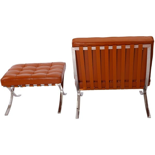 Incredible Shop Mlf Mid Century Light Brown Leather Pavilion Chair And Gmtry Best Dining Table And Chair Ideas Images Gmtryco
