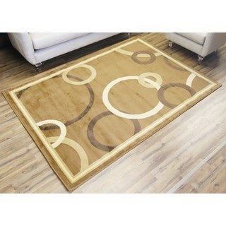 Empire Passion Contemporary Beige/Cream Rug (7'10 x 10'2)