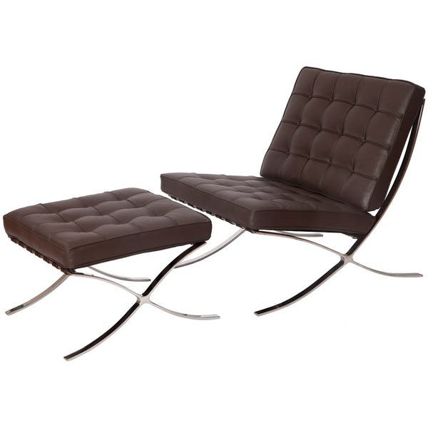 Groovy Shop Mlf Pavilion Chair And Ottoman Dark Brown Free Gmtry Best Dining Table And Chair Ideas Images Gmtryco