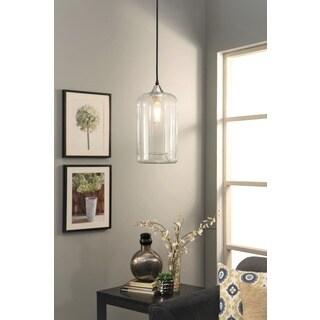 Abbyson Living Hudson Clear Pendant Light