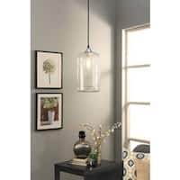 Abbyson Hudson Clear Pendant Light