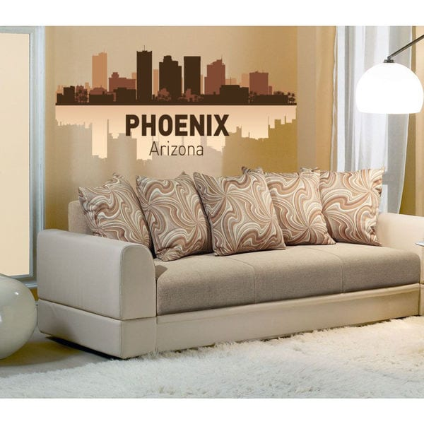 Arizona city Full Color Decal, Full color sticker, colored Arizona city Sticker Decal size 48x76