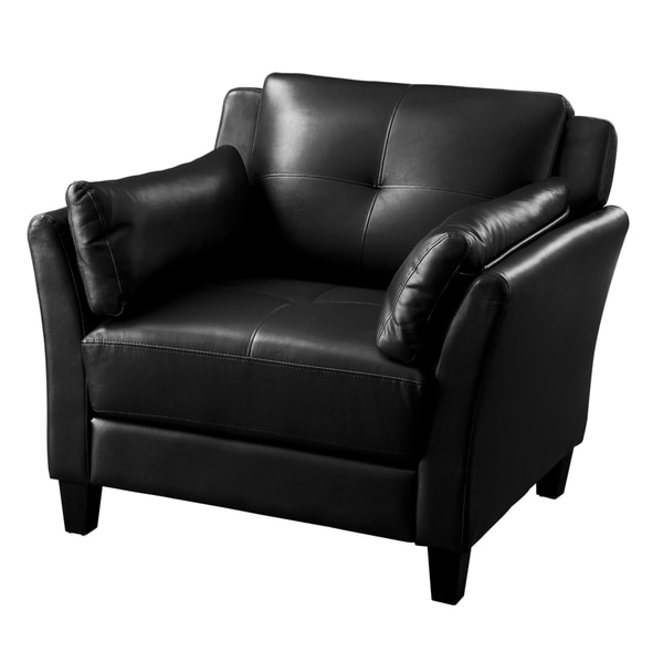The Gray Barn Brindabella Double Stitched Leatherette Club Chair by The Gray Barn