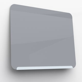 Ghent's LINK Board Blue/Grey Powder-coated Metal Magnetic Markerboard
