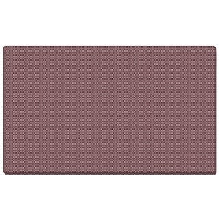 Ghent Merlot Fabric 12-inch x 48-inch Bulletin Board with Wrapped Edge