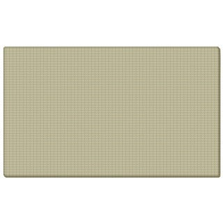 Ghent Beige Fabric Bulletin Board with Wrapped Edge
