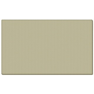 Ghent Beige Fabric and Fiberboard 24-inch x 36-inch Bulletin Board With Wrapped Edges