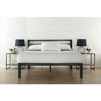 Priage 3000H Twin-Size Platform Bed Frame with Headboard