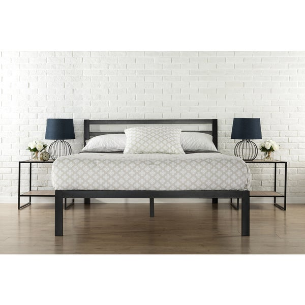 Shop Priage 3000H Twin-Size Platform Bed Frame with Headboard - On ...
