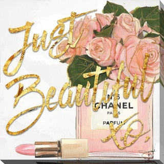 BY Jodi Just Beautiful Chanel Giclee Print Canvas Wall Art