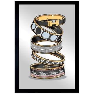 Oliver Gal 'Arm Candy Noir' Mirror Art|https://ak1.ostkcdn.com/images/products/13829243/P20474475.jpg?impolicy=medium