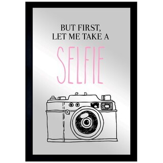 Oliver Gal 'Selfie' Mirror Art