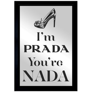 Oliver Gal 'You're Nada' Mirror Art