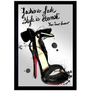 Oliver Gal 'Fashions Fade' Mirror Art