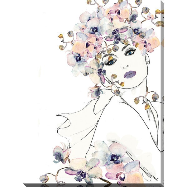 "BY Jodi ""In Bloom 2"" Giclee Print Canvas Wall Art"